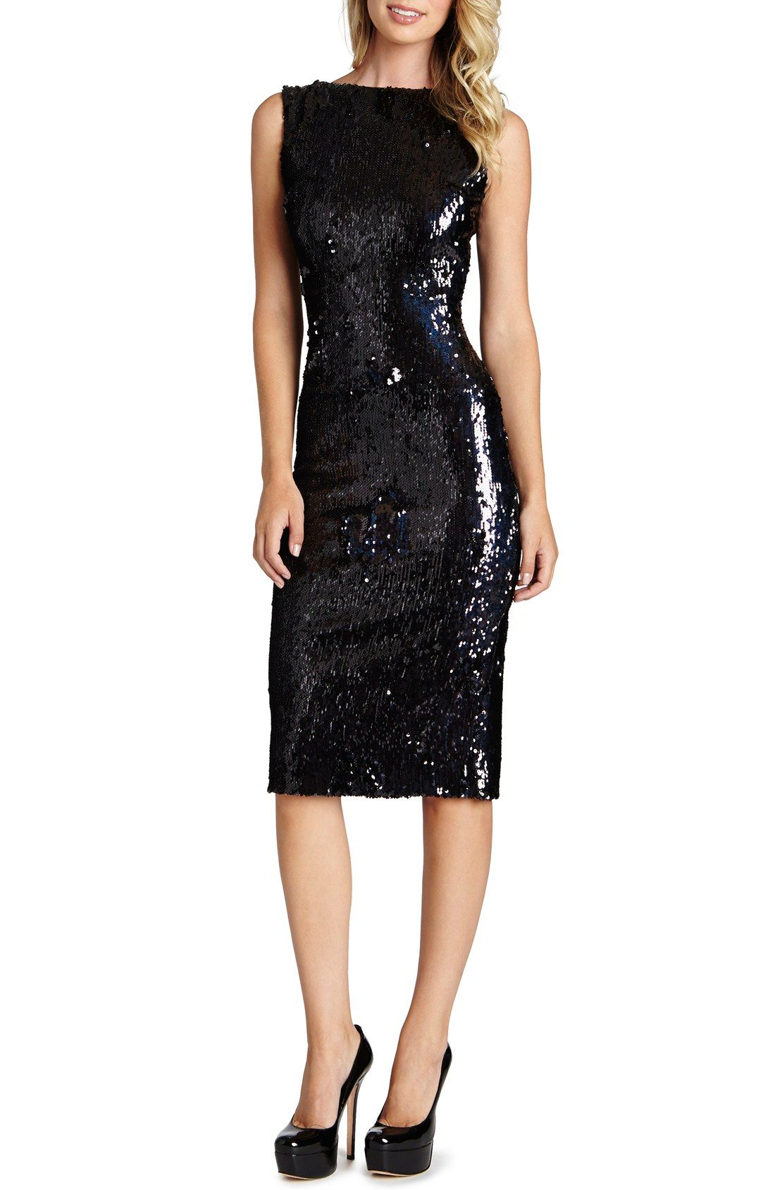 Dress the Population \'Audrey\' Sequin Body-Con Dress (Nordstrom ...
