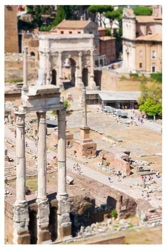 Original art for sale at UGallery.com | The Roman Forum by Bryan Solarski