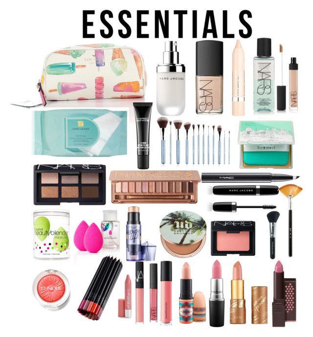 """""""Makeup!!"""" by bowhunter1498702 on Polyvore featuring beauty, Kate Spade, Marc Jacobs, NARS Cosmetics, L'Oréal Paris, Estée Lauder, MAC Cosmetics, too cool for school, Urban Decay and beautyblender"""