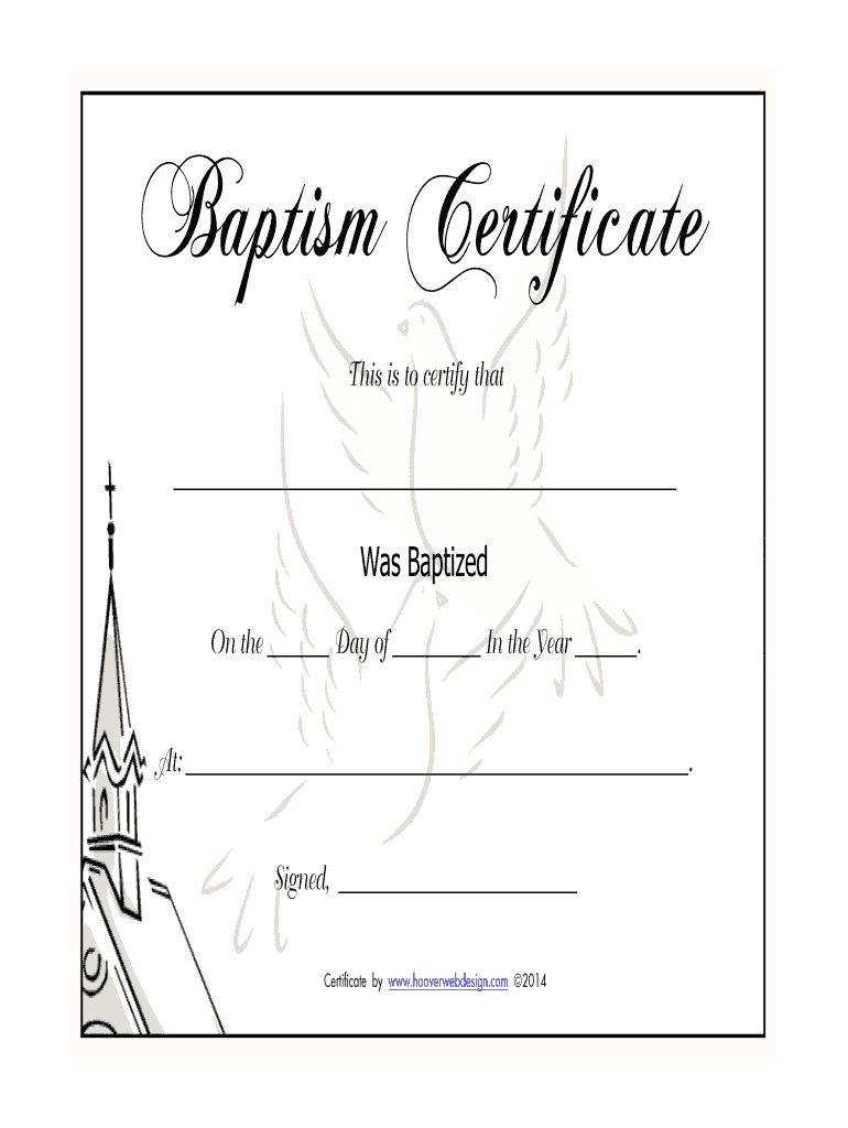 Fillable Baptism Certificate Milas Westernscandinavia Regarding Baptism Certificate Template Word Best Certificate Template Template Word Business Template Certificate of baptism word template