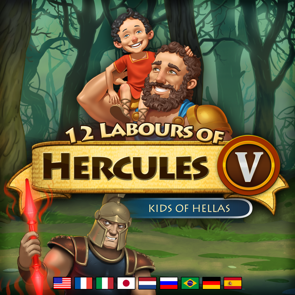 12 Labours Of Hercules V Kids Of Hellas Platinum Edition