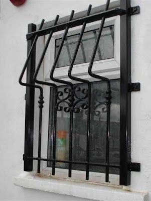 boundary wall with grill Google Search Windows Pinterest