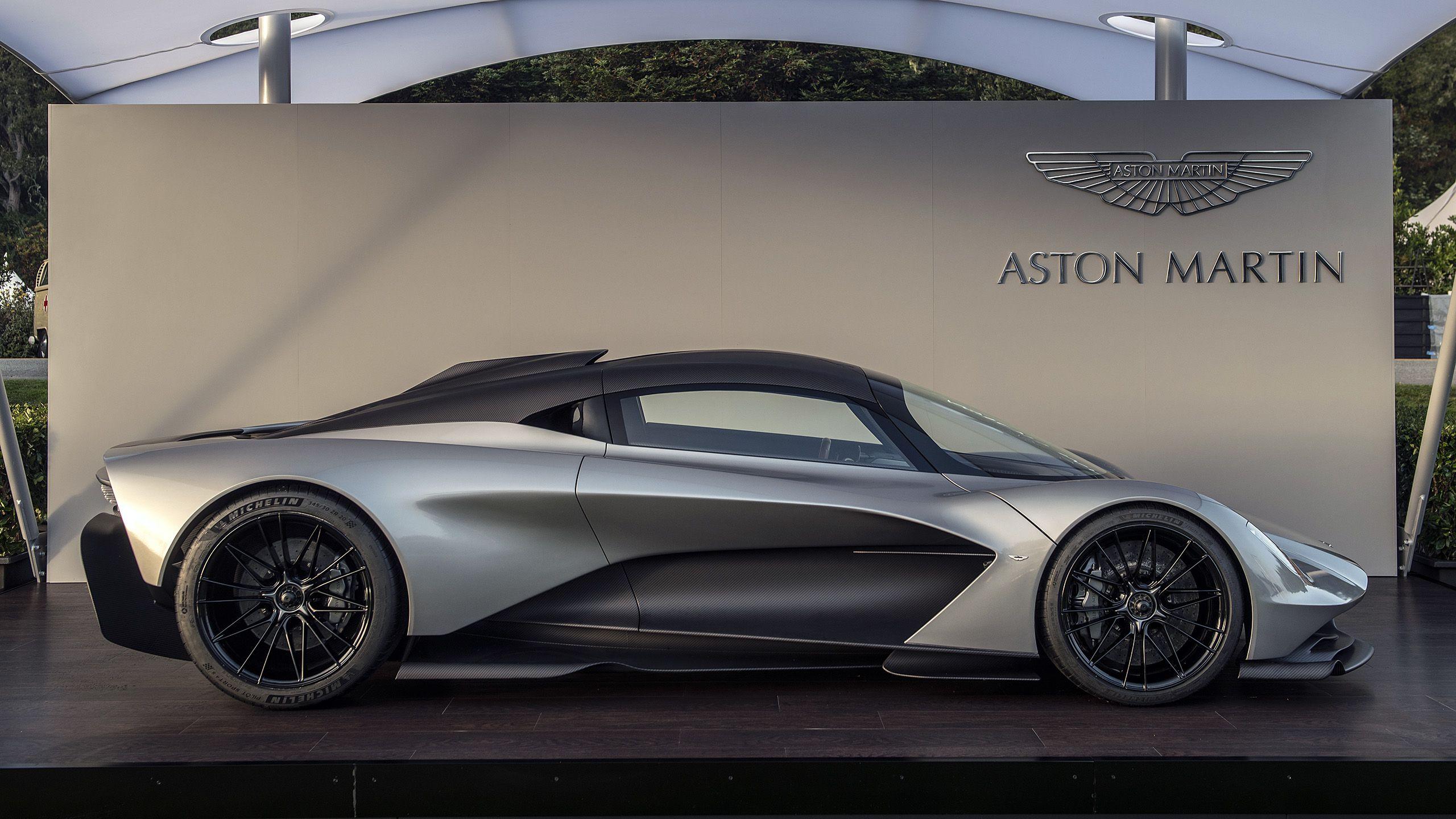 Aston Martin Valhalla at the Quail Photo Gallery
