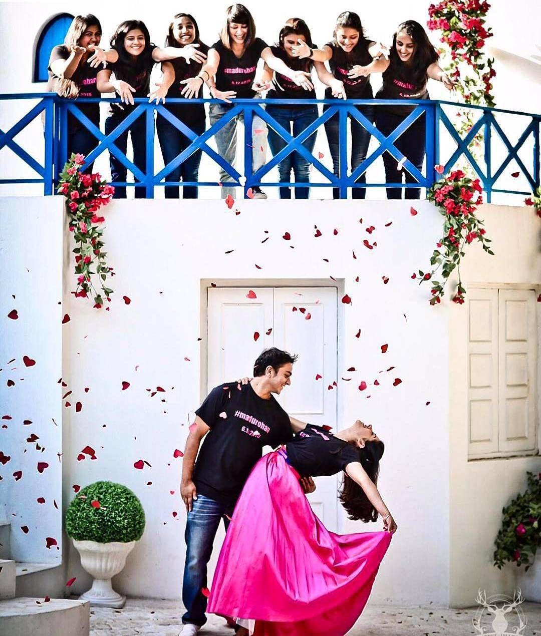 We needs a great team to create a stunning shot...A beautiful moment was created by @morvi_images #bigindianwedding #indianwedding #weddingphotography #photographyideas #photographyinspiration #bridesmaids #preweddingshoot