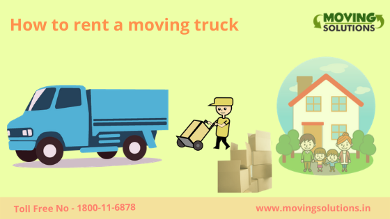 Rent movers and truck