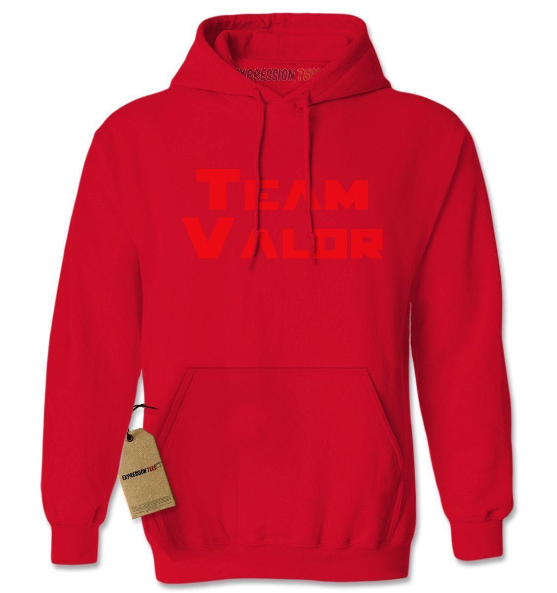 Team Valor - Represent Your GO Faction Adult Hoodie Sweatshirt
