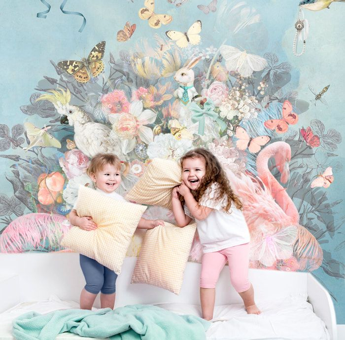 We Are Bringing Style Art And Personality Back To The Wall With Our Custom Designed Mural Wallpaper And Fine Art Prints Pr Mural Design Playroom Mural Mural