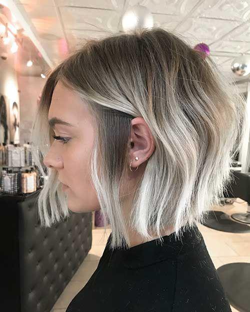 30 Unique Blonde Highlights Bob Haircut Ideas Bob Haircut And Hairstyle Ideas Blonde Highlights Bob Bob Hairstyles Blonde Highlights