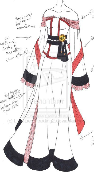 Mhcd Japanese Crane By Loveliesbleeding2 On Deviantart Dress