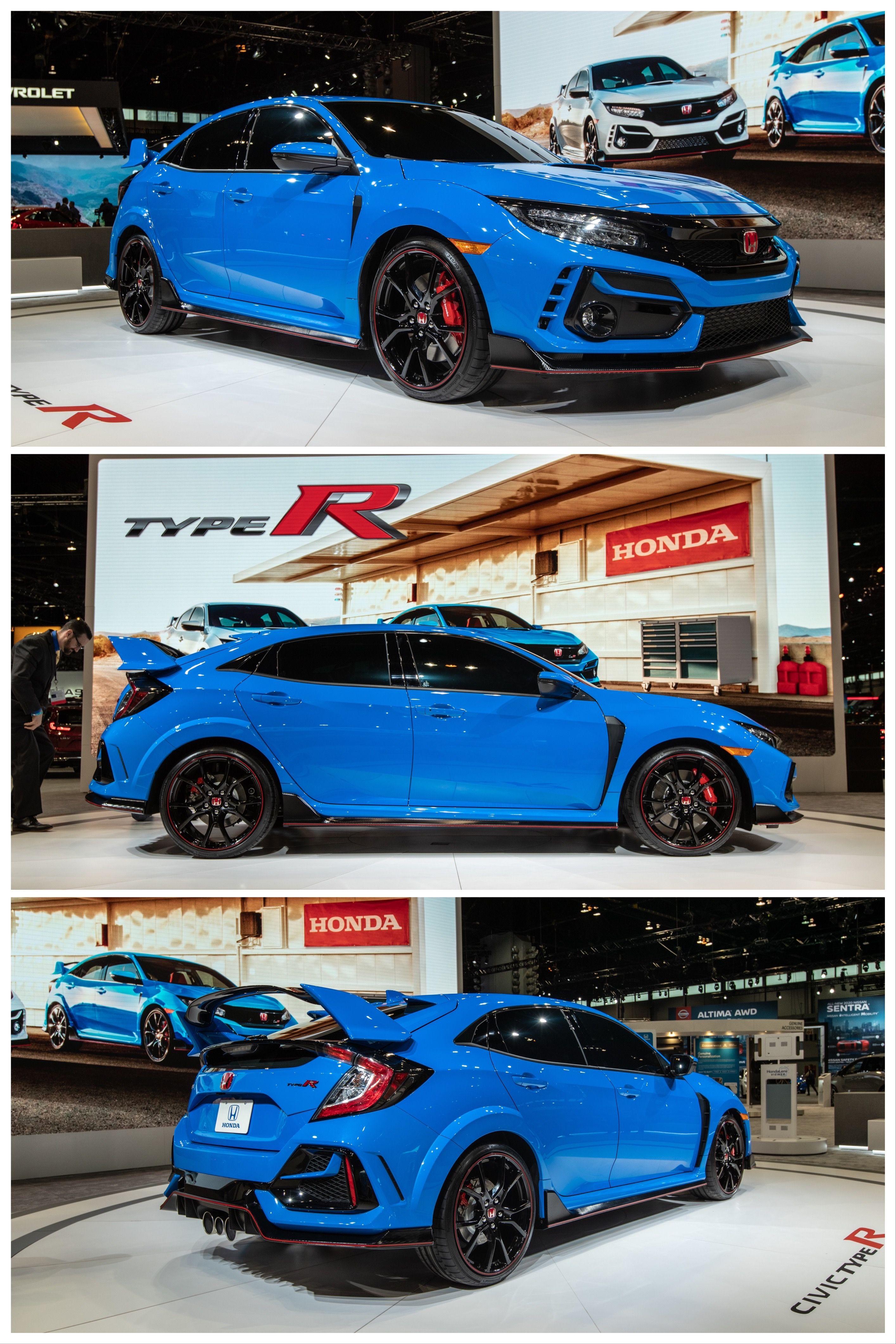 2020 Honda Civic Type R Gets Updated Suspension Brakes In 2020 Honda Civic Type R Honda Civic Civic