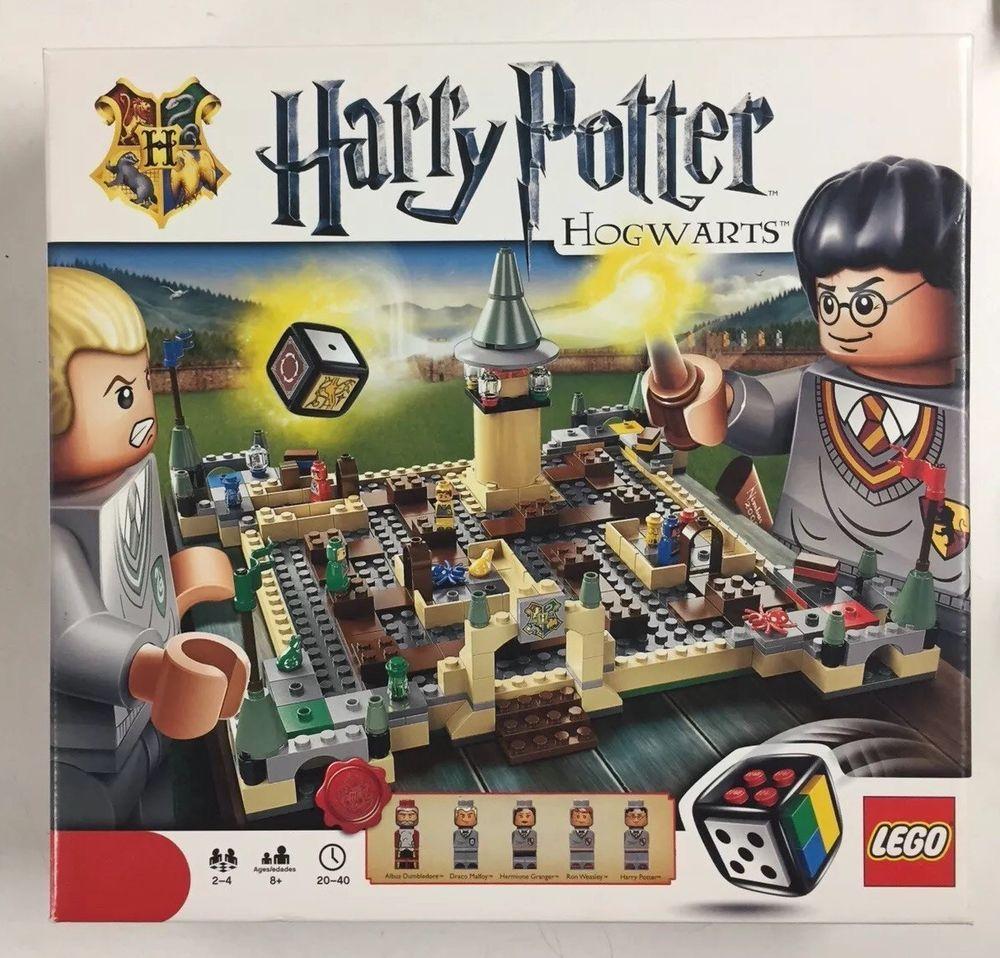 Lego Harry Potter HOGWARTS BOARD GAME Retired Set 3862 ...