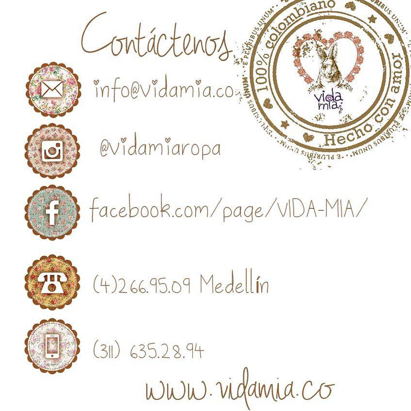 Contacto vida mia