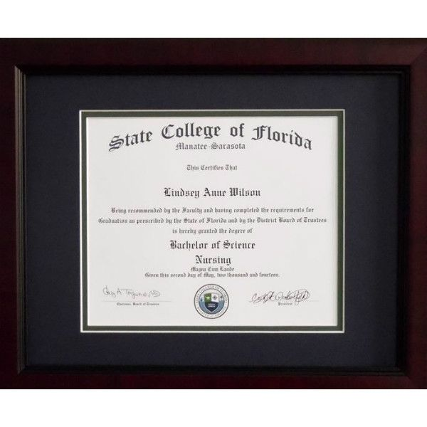 College Diploma Frames Diploma Only - Plaque U   College diplomas ...