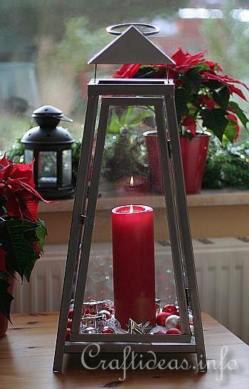 Photos of Christmas lanterns   Christmas Decorating Idea - Christmas Lantern
