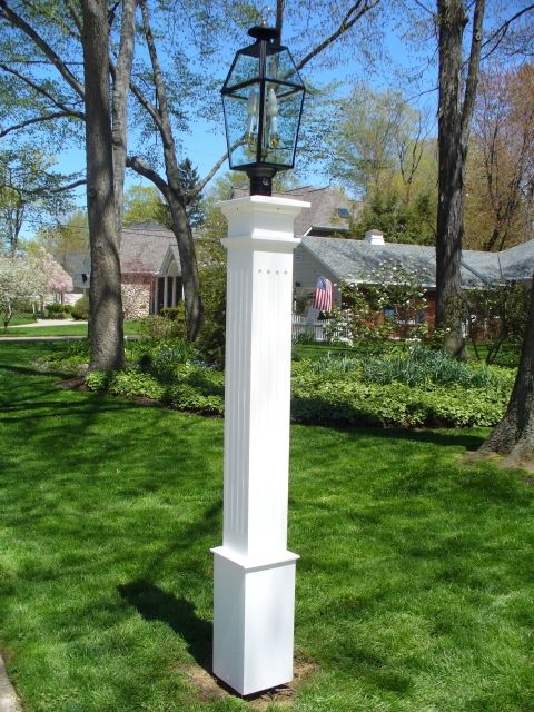 Wooden Lantern Posts Custom Made Out Of Western Red Cedar Lantern Post Outdoor Lamp Posts Outdoor Lighting