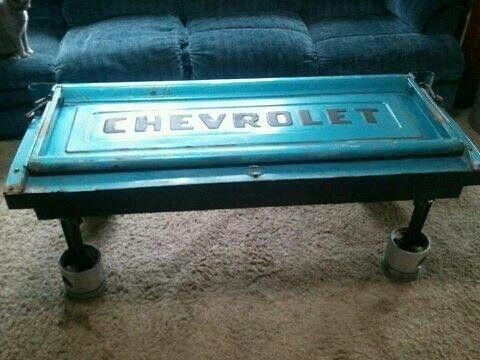 Redneck coffee table Farm Ranch Pinterest Coffee Men cave