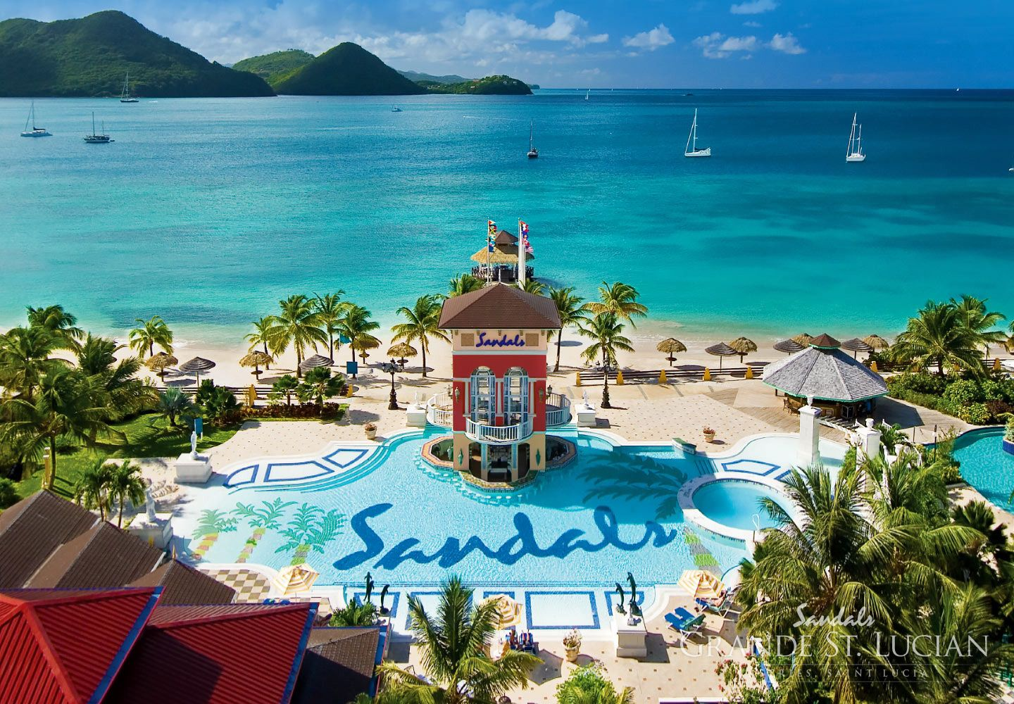Sandals Grande St Lucian St Lucia All Inclusive Resort