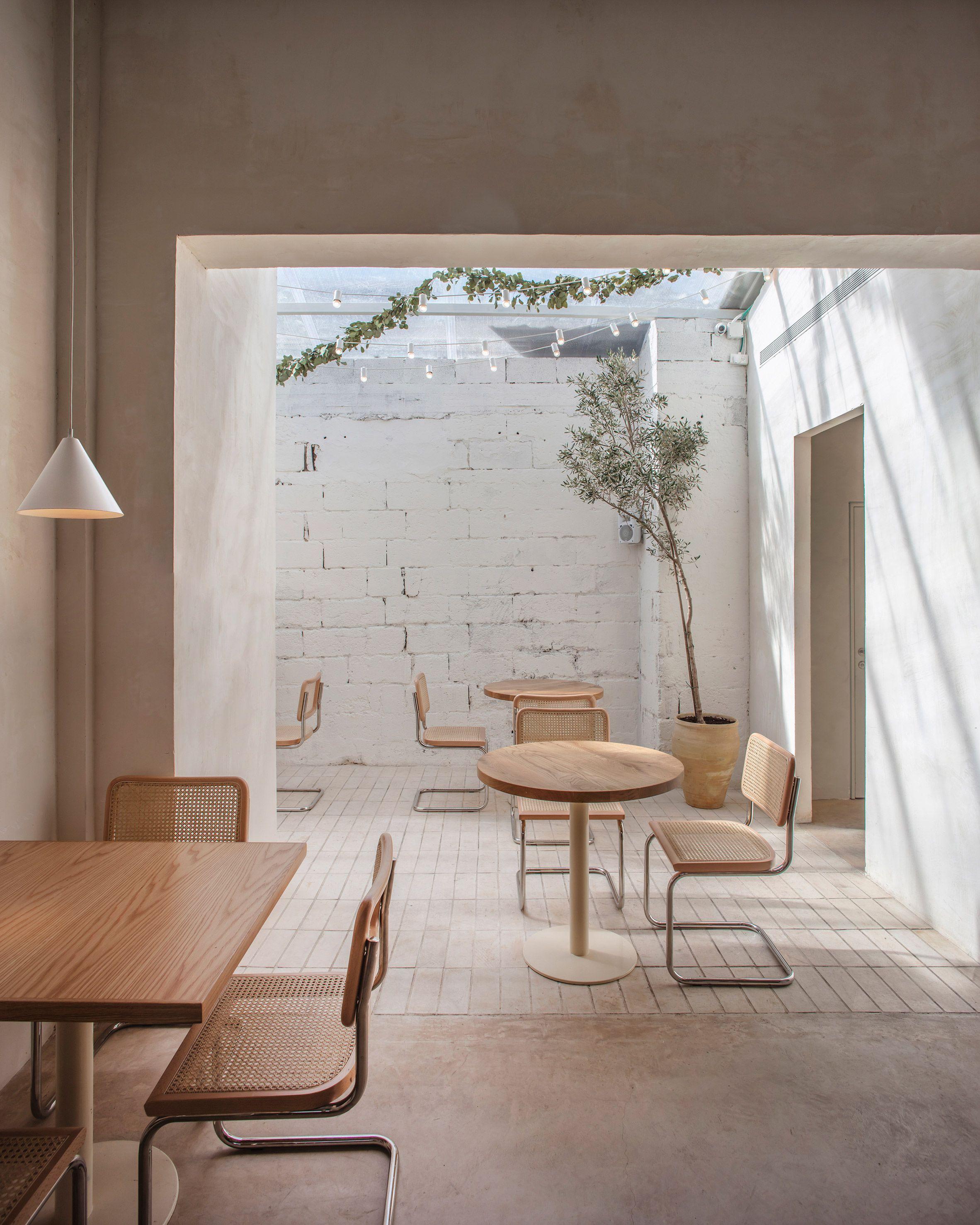 Helmed by chef Shirel Berger, plant-based restaurant Opa is designed by architect and interior designer, Vered Kadouri, alongside Tel Aviv design house Craft & Bloom.