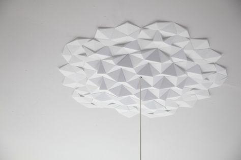deckengestaltung zum selbermachen, deckengestaltung selbermachen ideen deko geometrische formen, Design ideen
