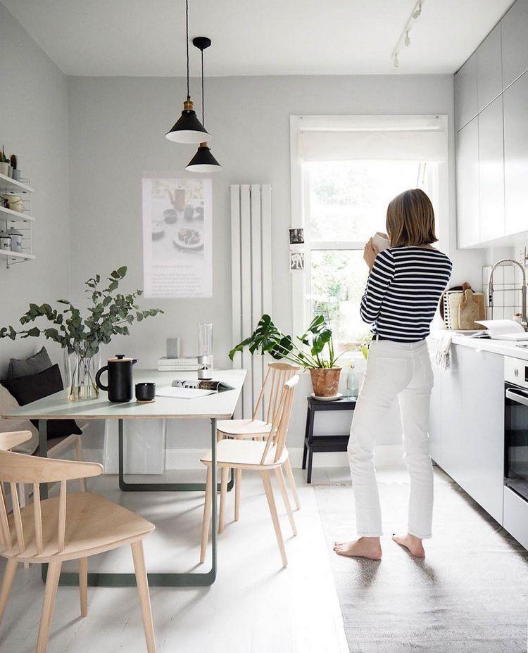 Cate St Hill S Scandinavian Inspired Oasis In London My Scandinavian Home Interior Design Kitchen Kitchen Interior My Scandinavian Home