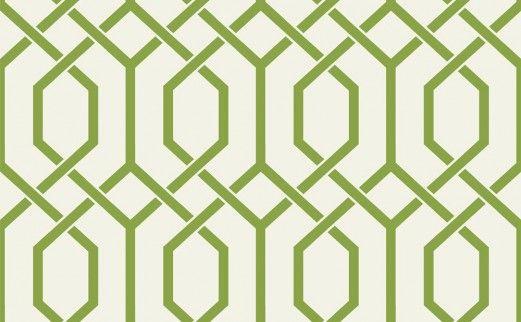 Hexagonal Trellis By Today Interiors Green White Wallpaper Direct Interior Wallpaper Hallway Decorating Wallpaper