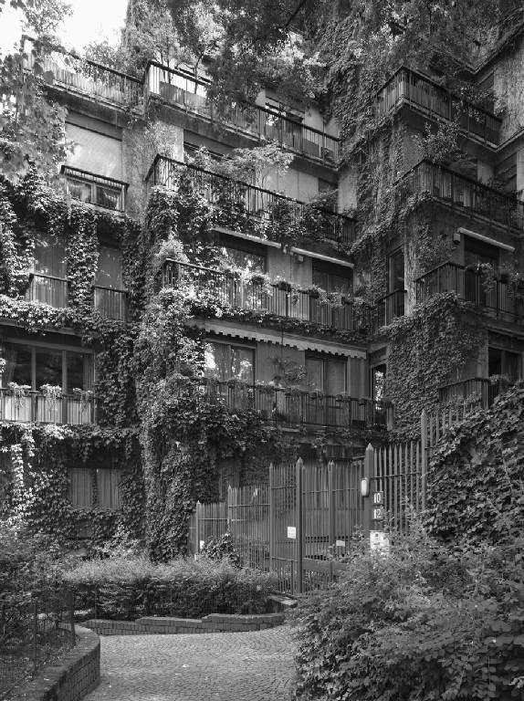 1961 70 bbpr complesso residenziale milano arch for Architettura moderna case
