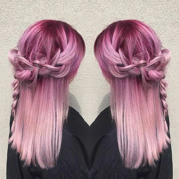 21 pastel hair color ideas for 2016 pastel pink hair