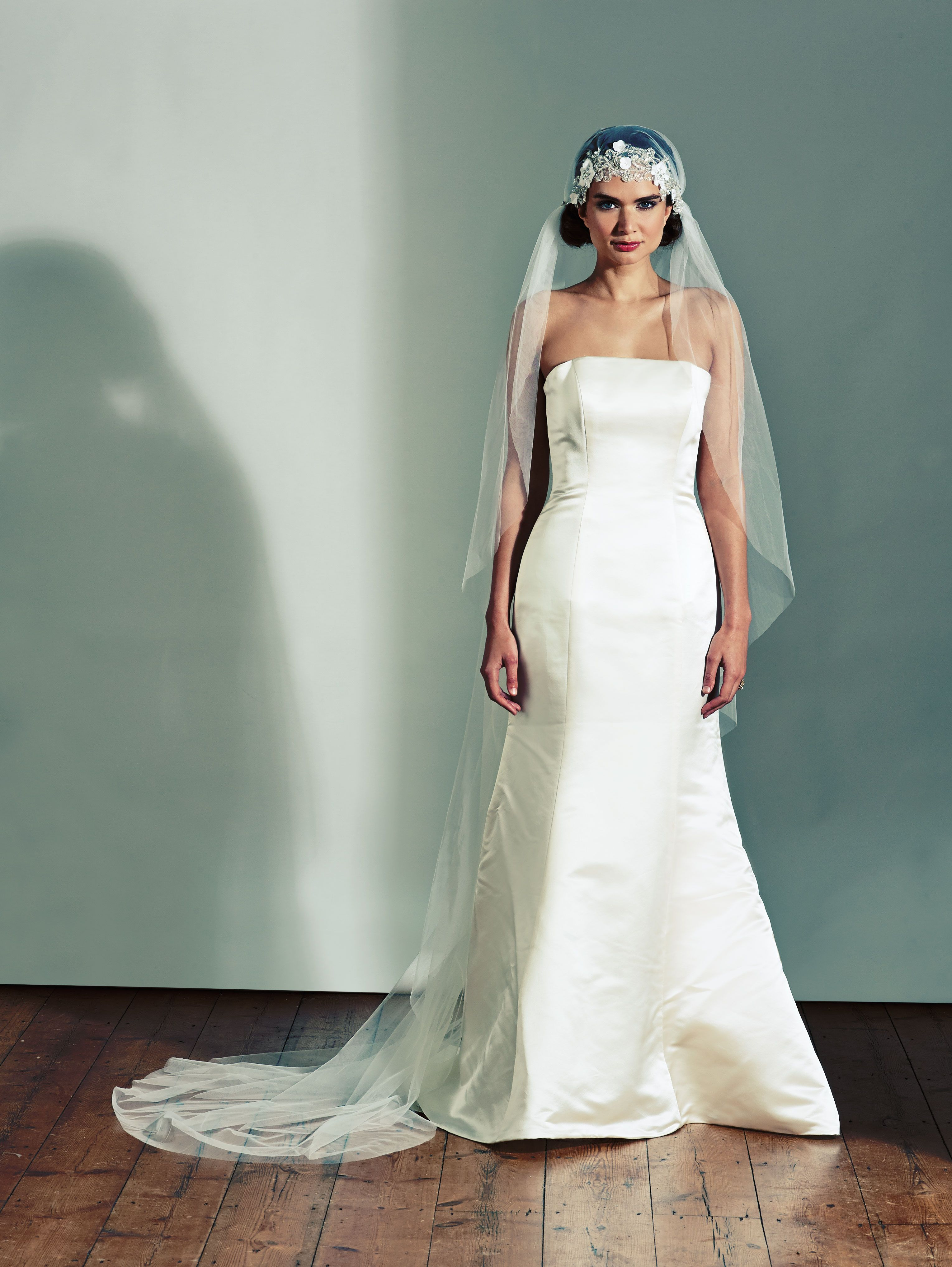 Joyce jackson nefyn wedding veil a boho style italian tulle veil
