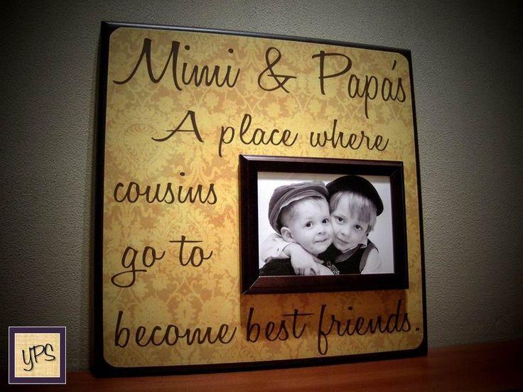 Grand Parent Mimi Gifts   Custom Grandparents Picture Frame Mimi ...