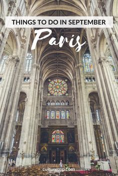 What's On In Paris In September // © Joe deSousa // Creative Commons