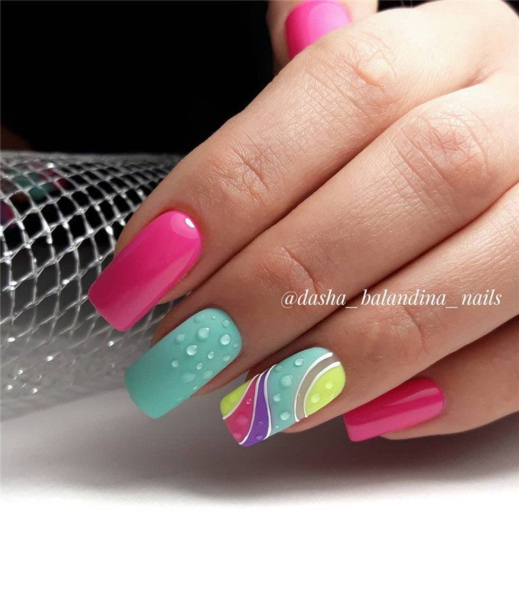 60 Spring Nail Ideas For Exceptional Look 2020 Spring Nail Art