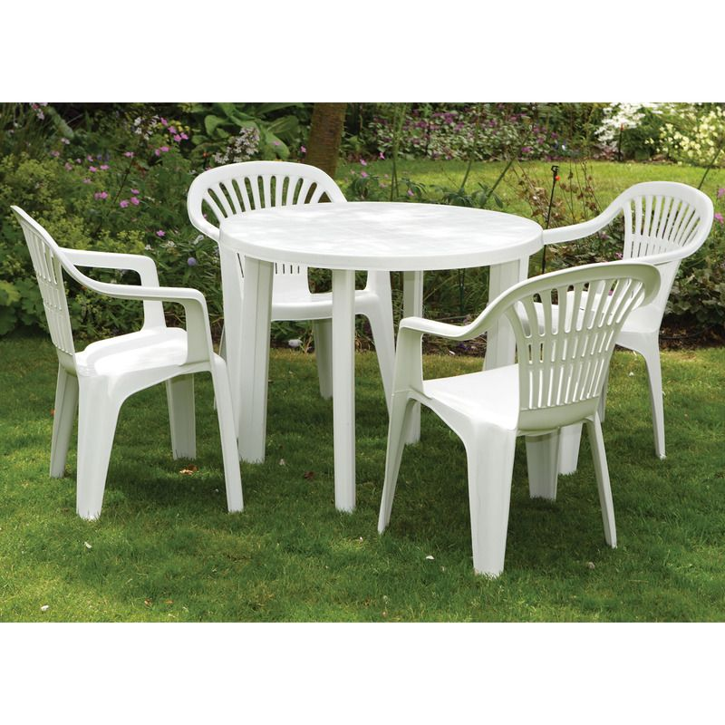 Plastic Patio Table And Chairs Outdoor Tables And Chairs Pool