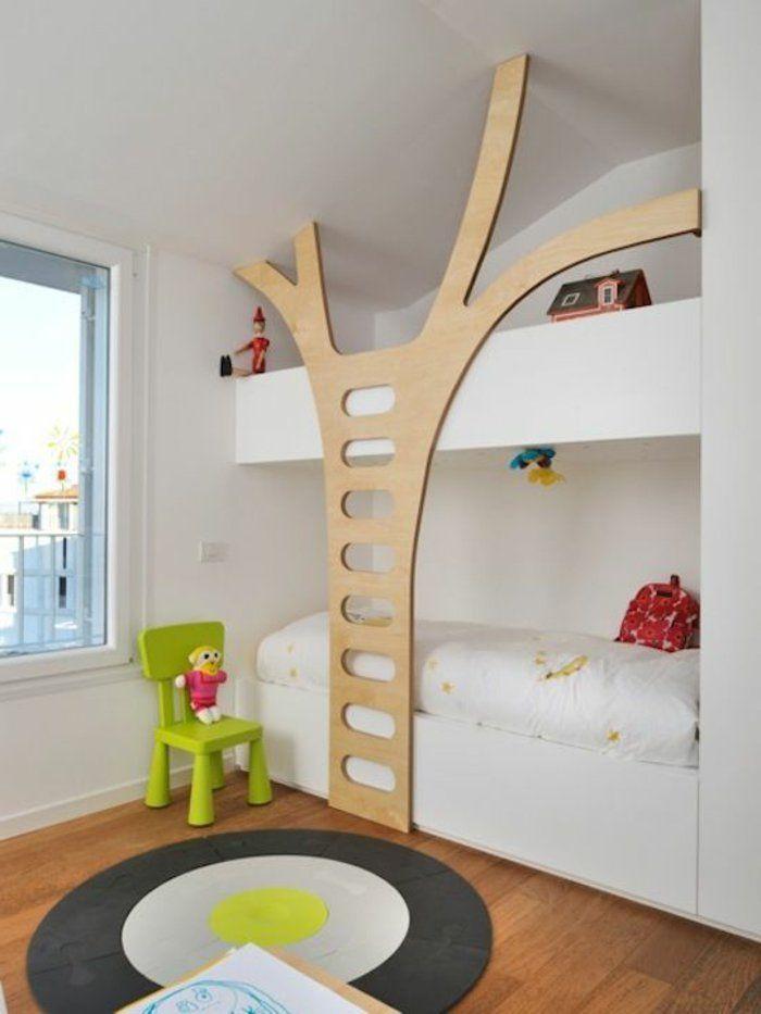 lit superpos ikea dans la chambre denfant - Lit Superpose Ikea