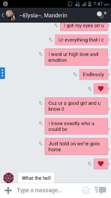 Talking to my friends  1