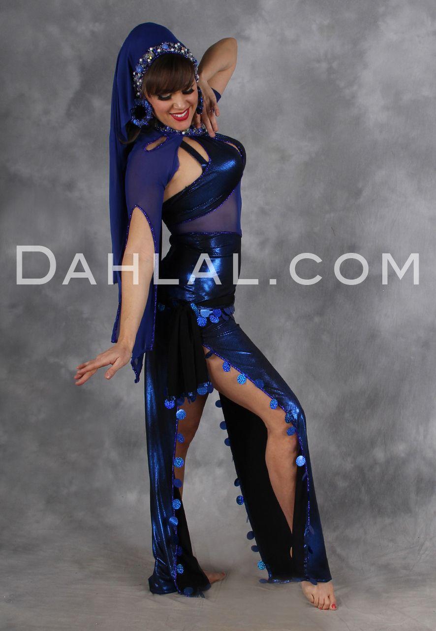 42999d45b94c6 Dahlal Internationale Store - YA HABIBI SAIDI by Designer Eman Zaki,  Egyptian Belly Dance Dress