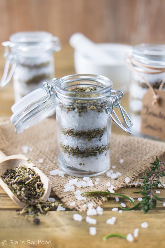 Geschenke Aus Der Küche Kräuter Salz I Gifts From The Kitchen