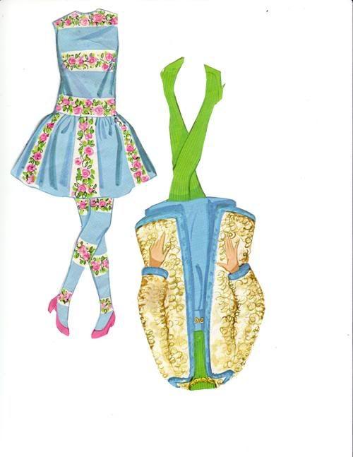 1969 Barbie | Paper Dolls Barbie/ Påklædnings dukker Barbie ...