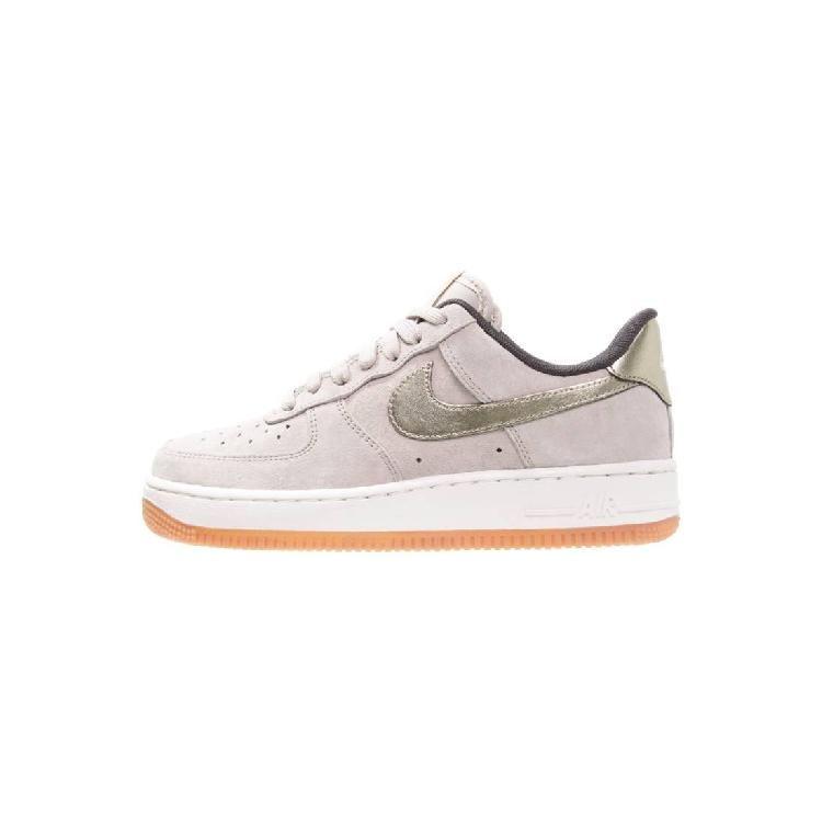 AIR FORCE 1 '07 PREMIUM - Sneaker low - string/metallic gold grain by Nike Sportswear