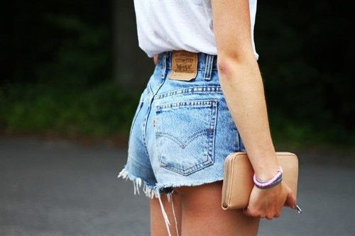 5df8d298 80s Vintage Levis Shorts High Waisted Cutoffs Denim Jeans Cheeky Style -  Cuff N Roll