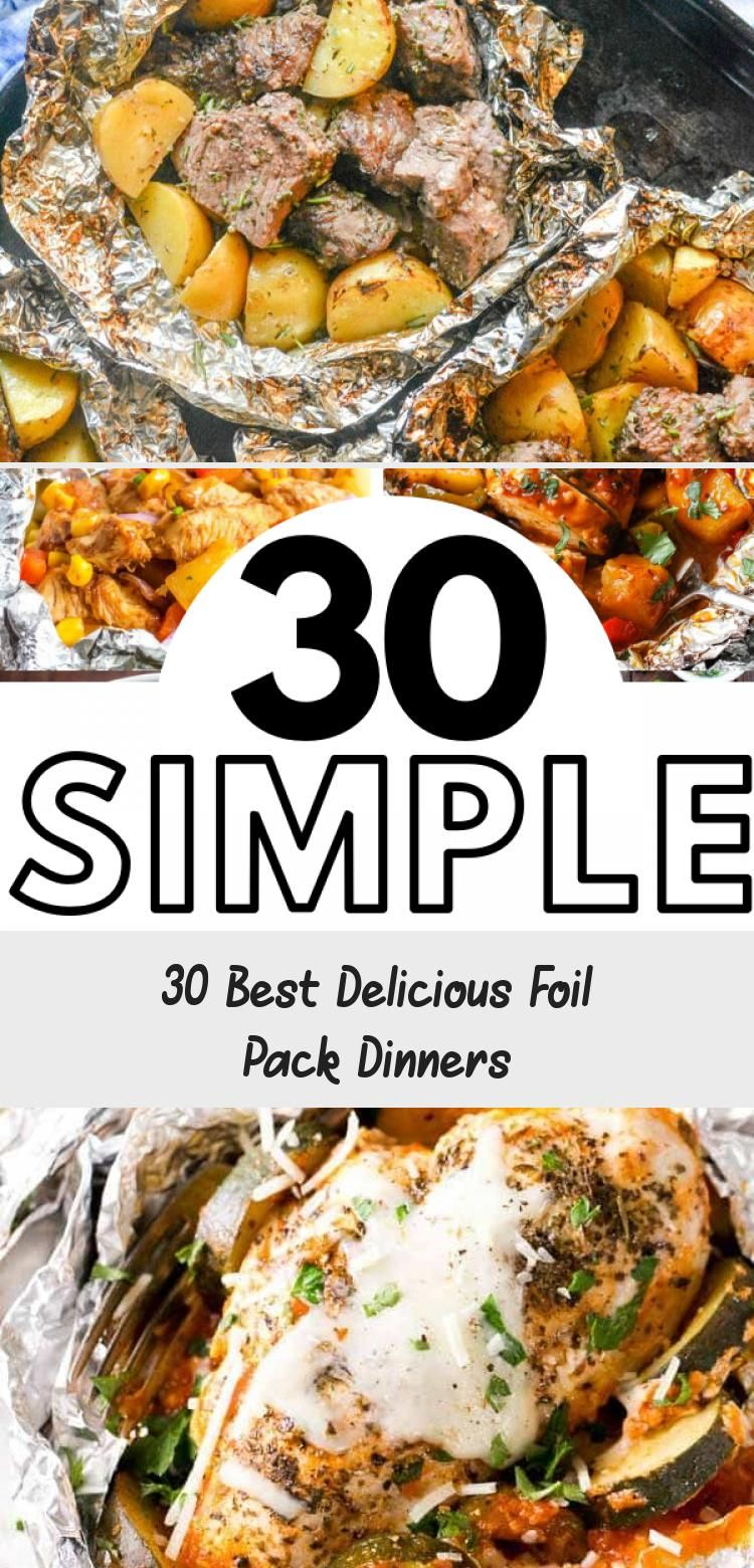 Photo of 30 Best Delicious Foil Pack Dinners – Pinokyo