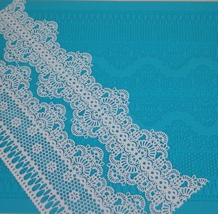 Chantilly Sugar Dress Cake Lace Mat By Claire Bowman
