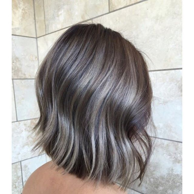 Ssooniestyle With Splash Yumi Splash Yumi Balayage Ombre Sombre Babylights Highlights Olaplex White Hair Color Short Hair Balayage Short Ombre Hair