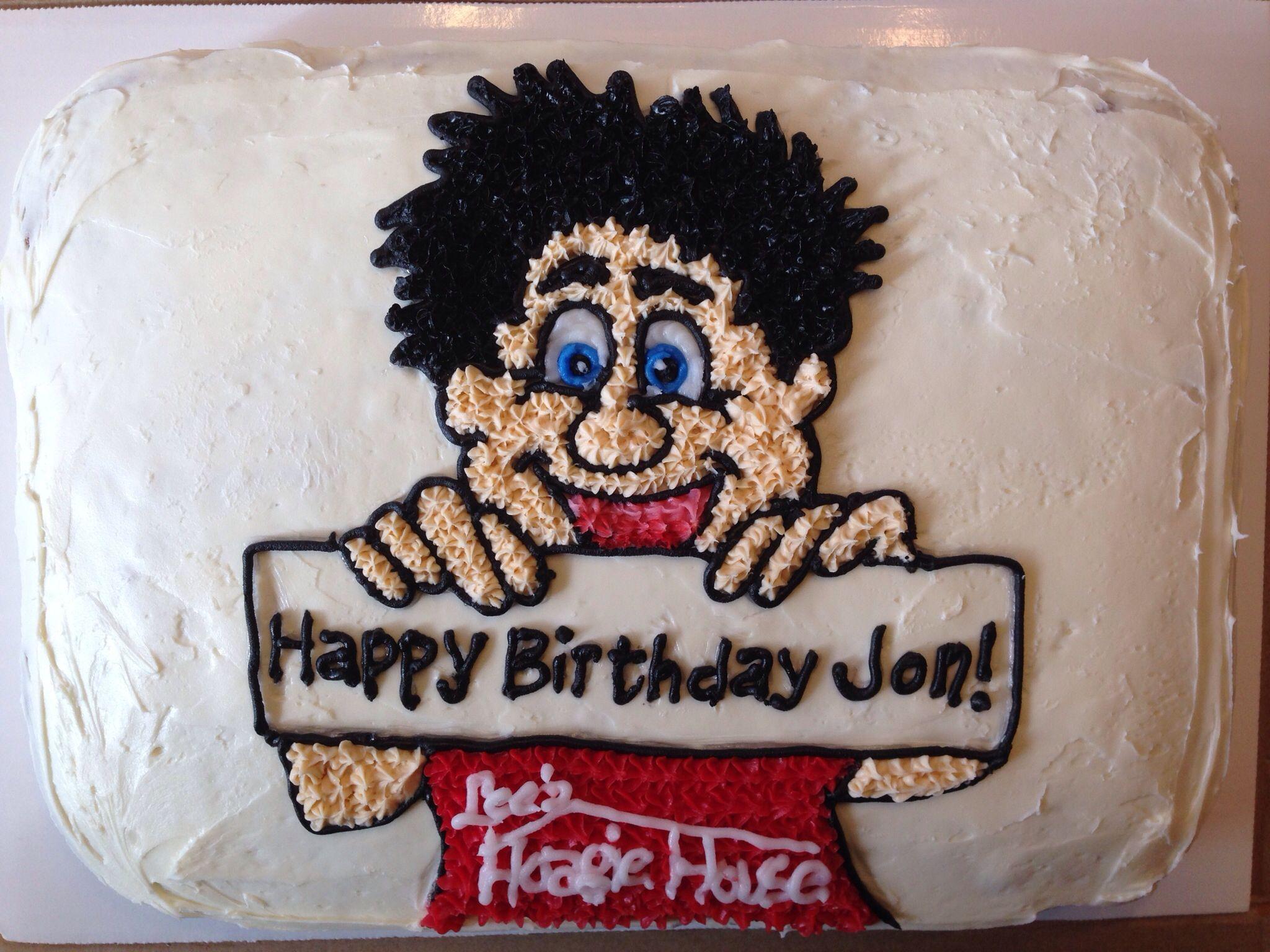 Jon S Hoagie Guy Cake Happy Birthday Jon Cakes For Men