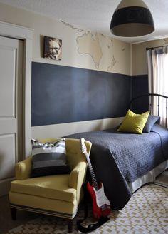 Tween Rooms For Boys Chalkboard Paint Tween Boys Room - Bedrooms chalkboard paint walls decor