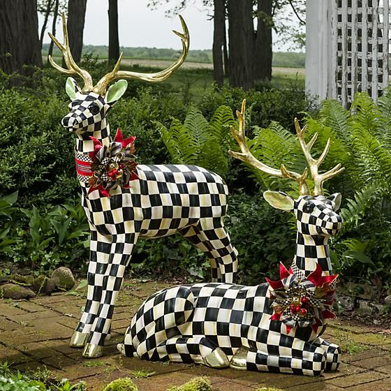 Courtly Check Resting Deer - Highland Invite the woodland\u0027s most