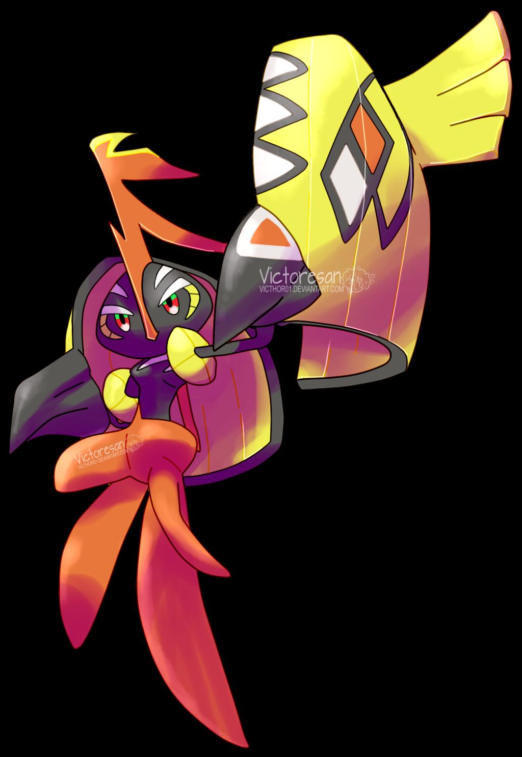 Tapu Koko By Vikthor01 Da8g906 Png 1024 1485 Pokemon Anime Nerd