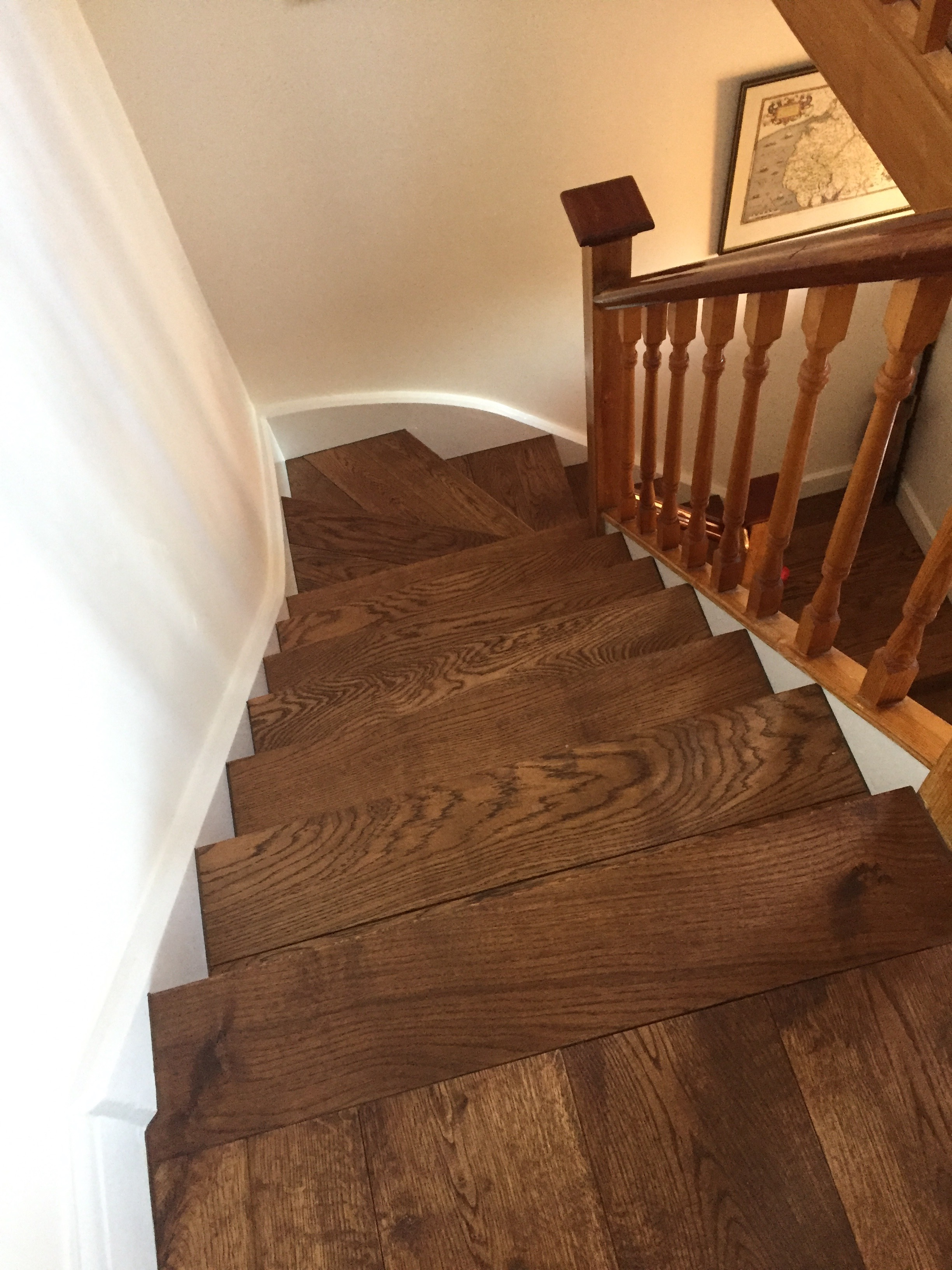 Best Our Solid Oak Stair Cladding Prefinished In An English 640 x 480