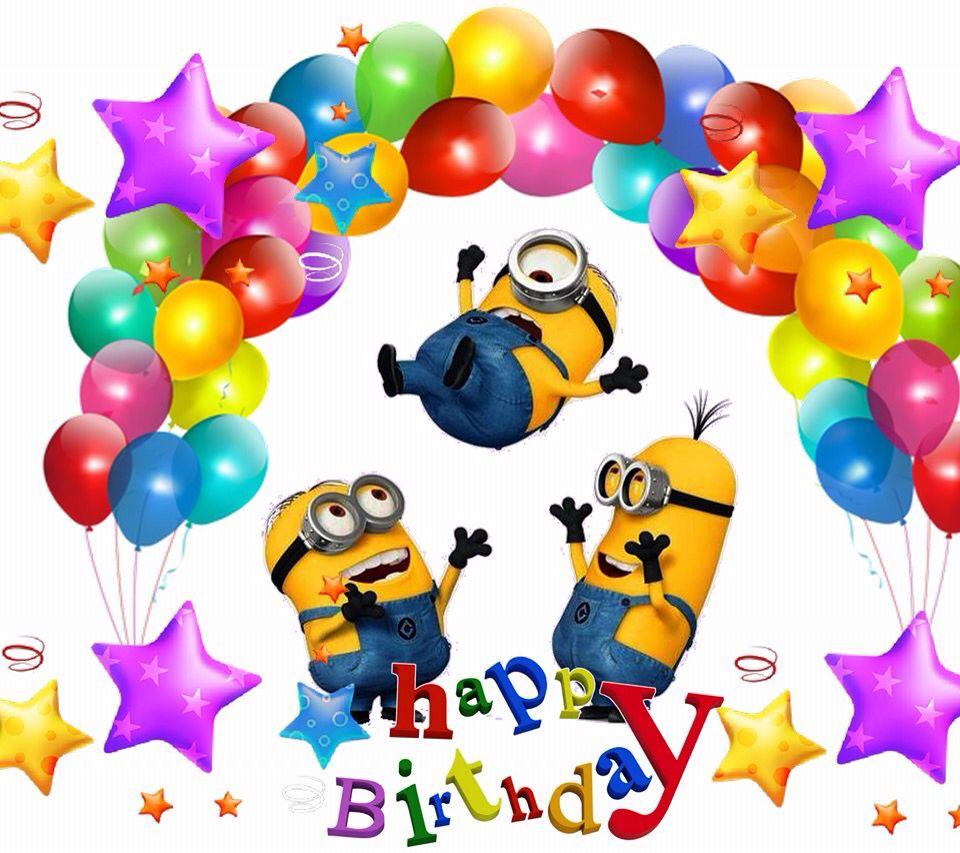 Happy Birthday Geburtstag Und Geschenke Minions Joyeux