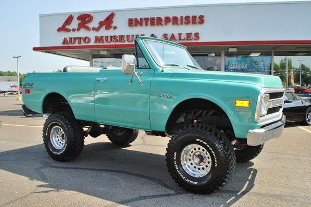 Antique Trucks Classictrucks Chevy Trucks Chevrolet Blazer Trucks