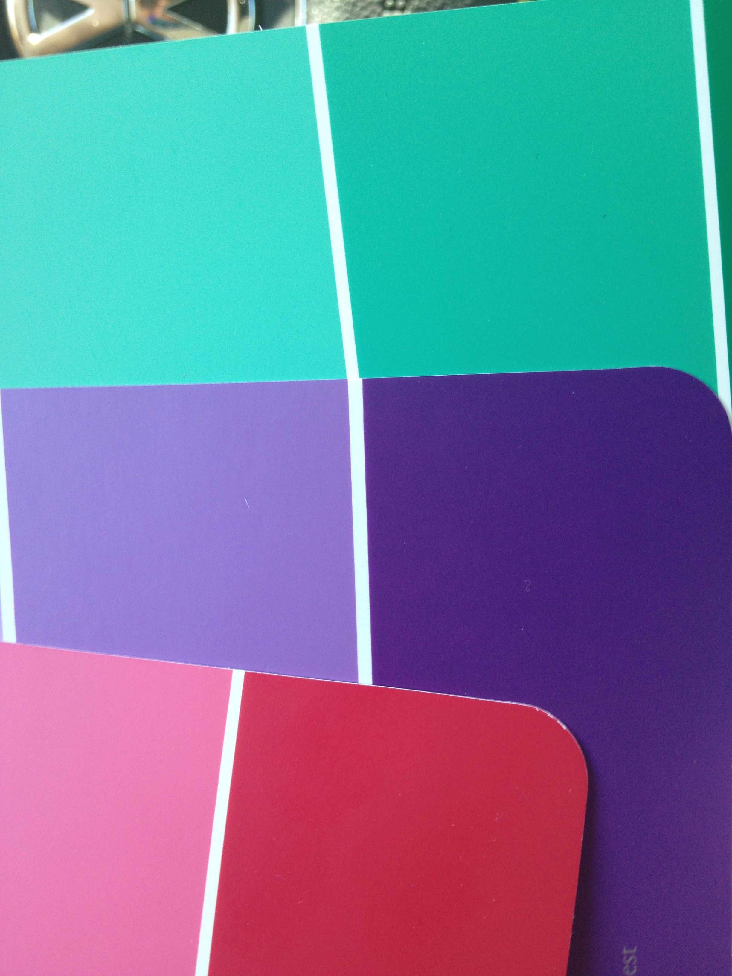 Color scheme: purple, red, and teal   Teen Girl Room in 2019 ...
